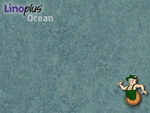 Linoplus OCEAN Linoleum Klickdielen