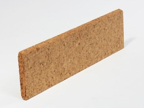 Kork-Fussbodenleisten Liston naturbelassen
