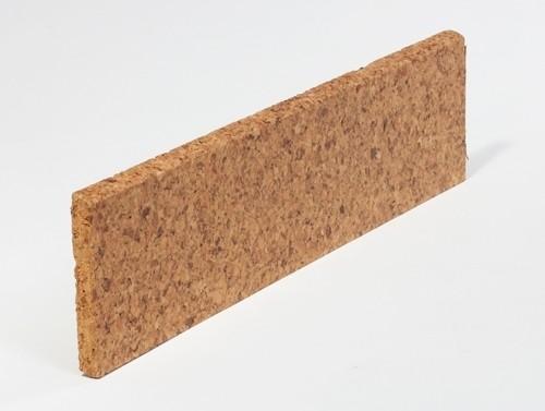 Kork-Fussbodenleisten Liston lackiert